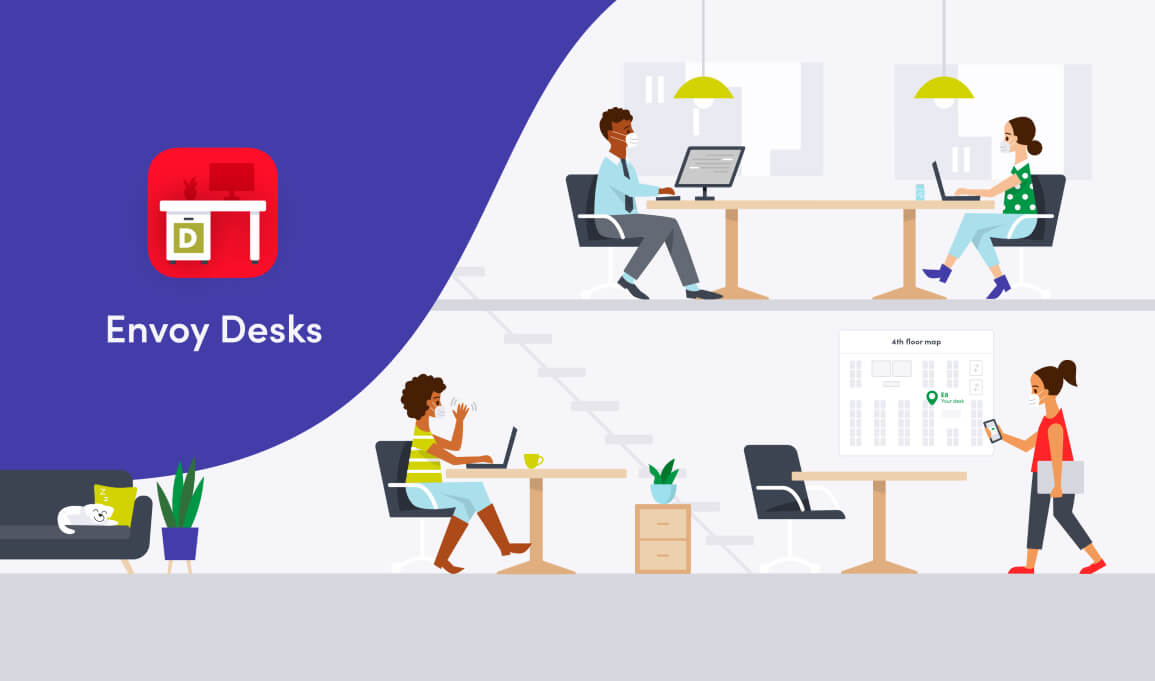 Introducing Envoy Desks for flexible workplaces