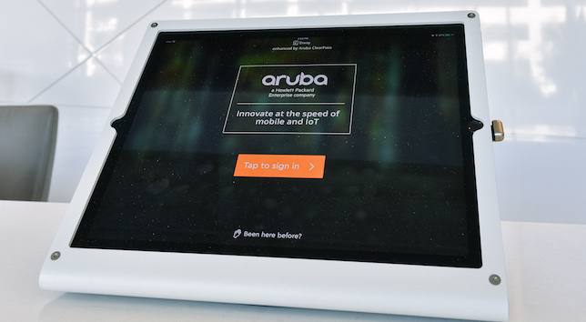 Photo of Envoy in use at Aruba