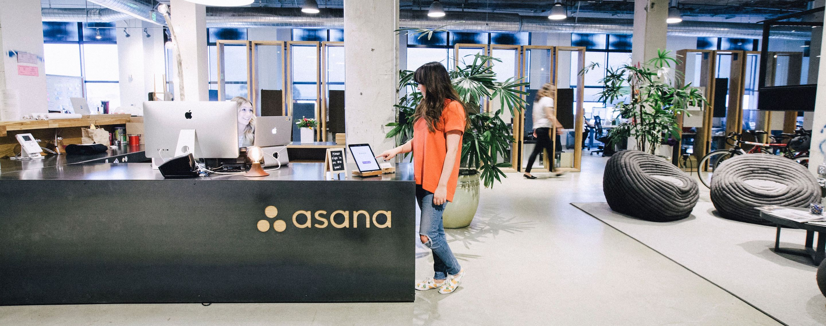 Photo of Envoy in use at Asana