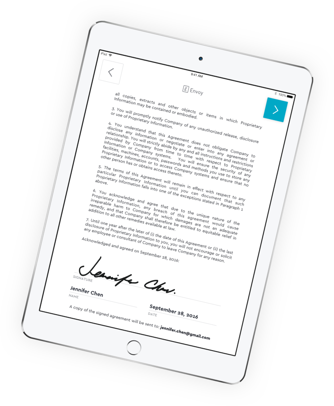Automate Legal Paperwork And Nda Signing Envoy