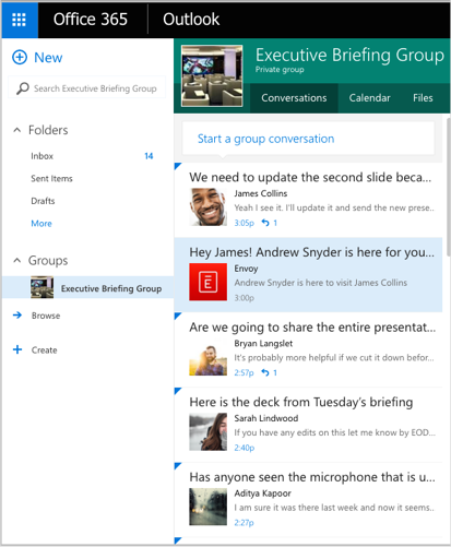 Envoy + Office 365 notification