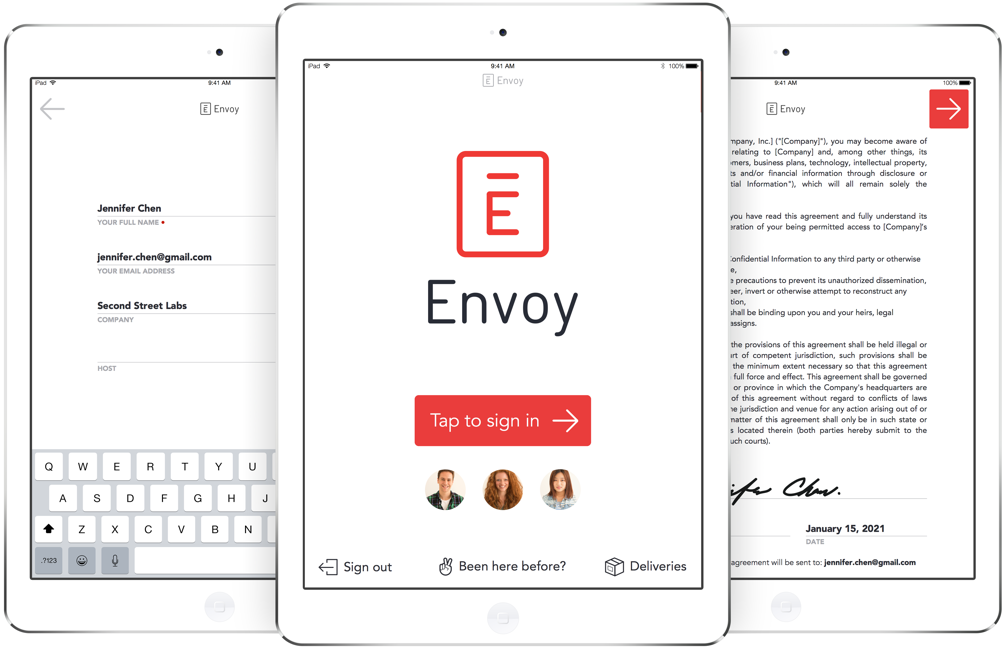 sign in sheet template envoy
